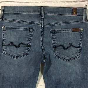 7 For All Mankind Jeans - 7 for all mankind bling Roxane skinny denim jeans